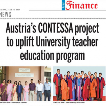 Contessa in the Daily News Sri Lanka